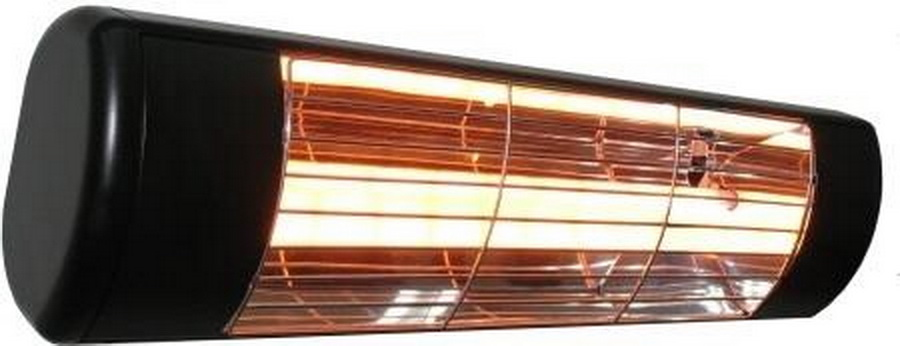 Sunheat WL-15 Commercial Wall Mounted Heater (Black, White or Silver)