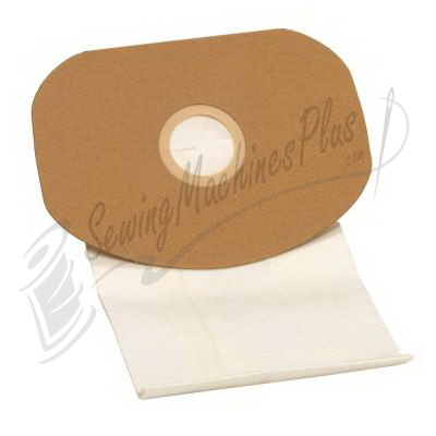 10-Pack Carpet Pro HEPA Paper Vacuum Bags for SCBP-1 06.415