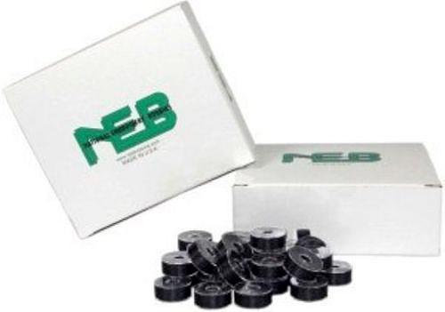 NEB Embroidery Machine Bobbins Box of 144 - Style L Black