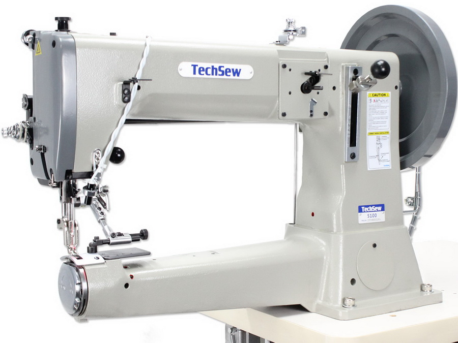 The high quality: Techsew 5100 Heavy-Duty Compound Feed Industrial/Home Sewing Machine for Canvas