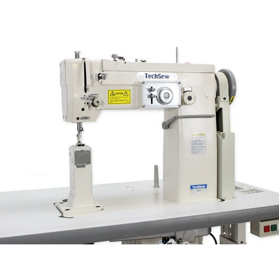 Shoe sewing machine-Techsew 815 Post Bed ZigZag and Straight Stitch Industrial Sewing Machine