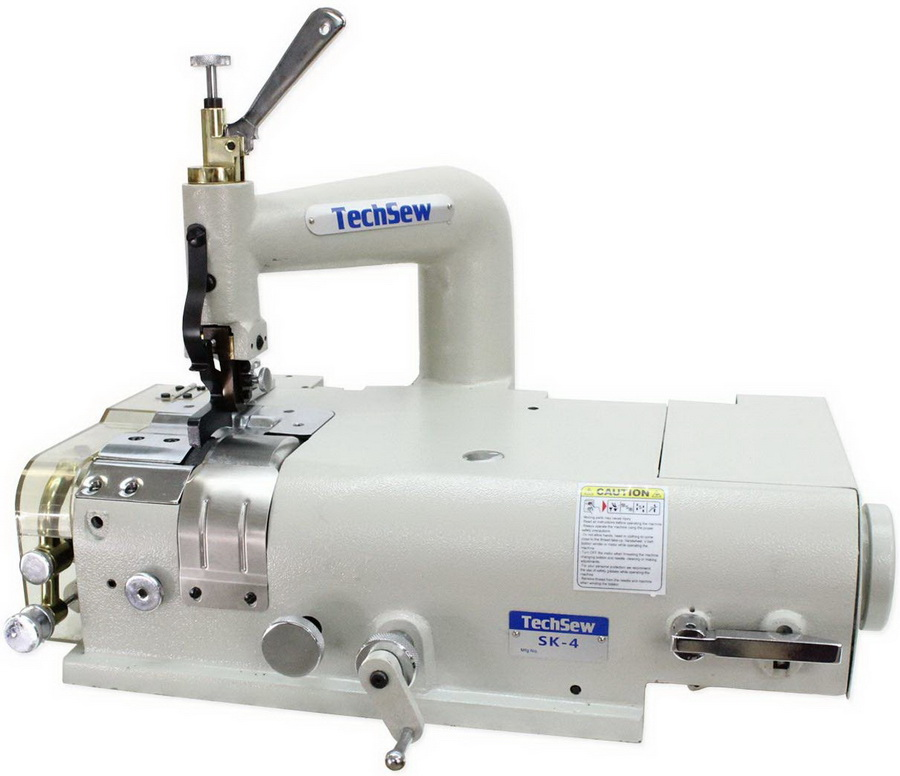 Techsew SK-4 Leather Skiving Machine With Assembled Table and Motor