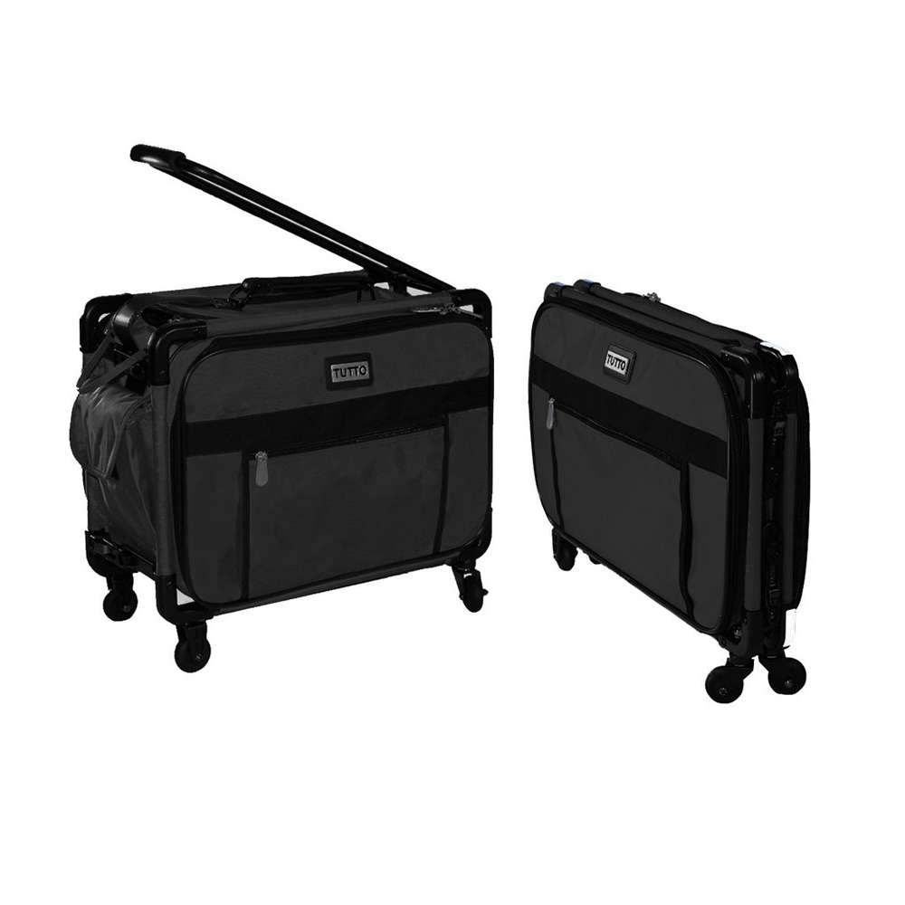 Tutto 17 inch Small Carry-On w/Wheels-Black (2009-BLK)
