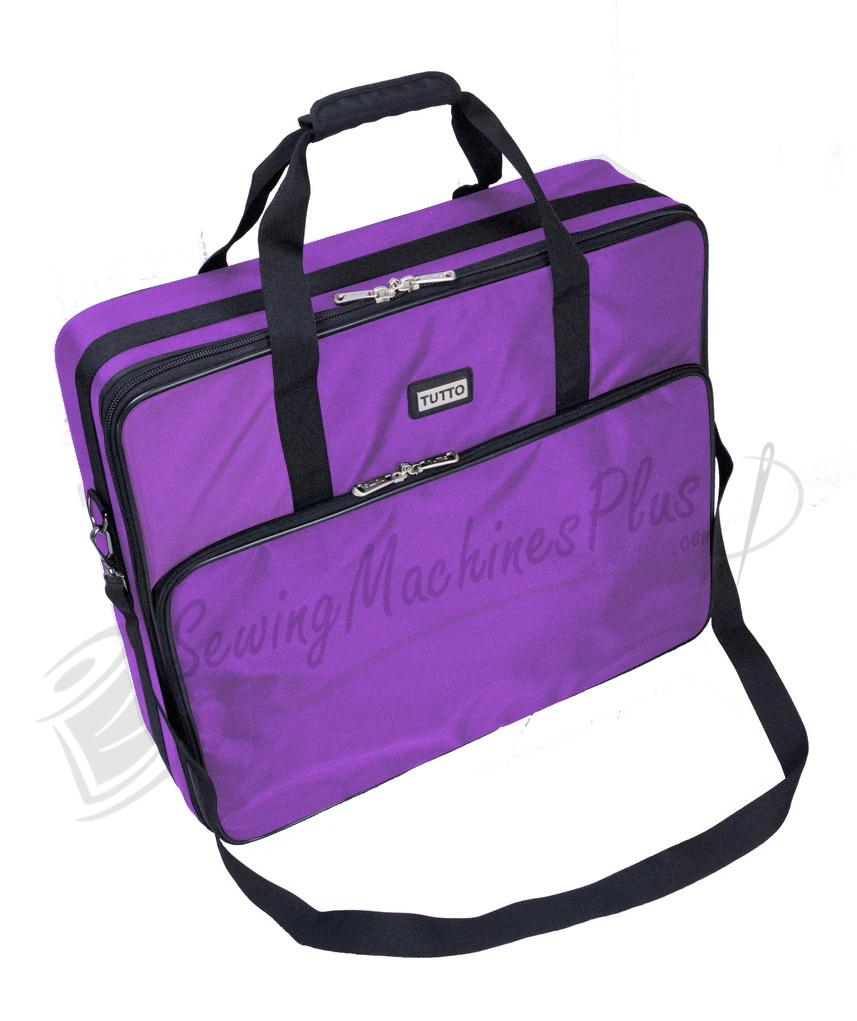 "Tutto 26"" Embroidery Project Bag-Purple"