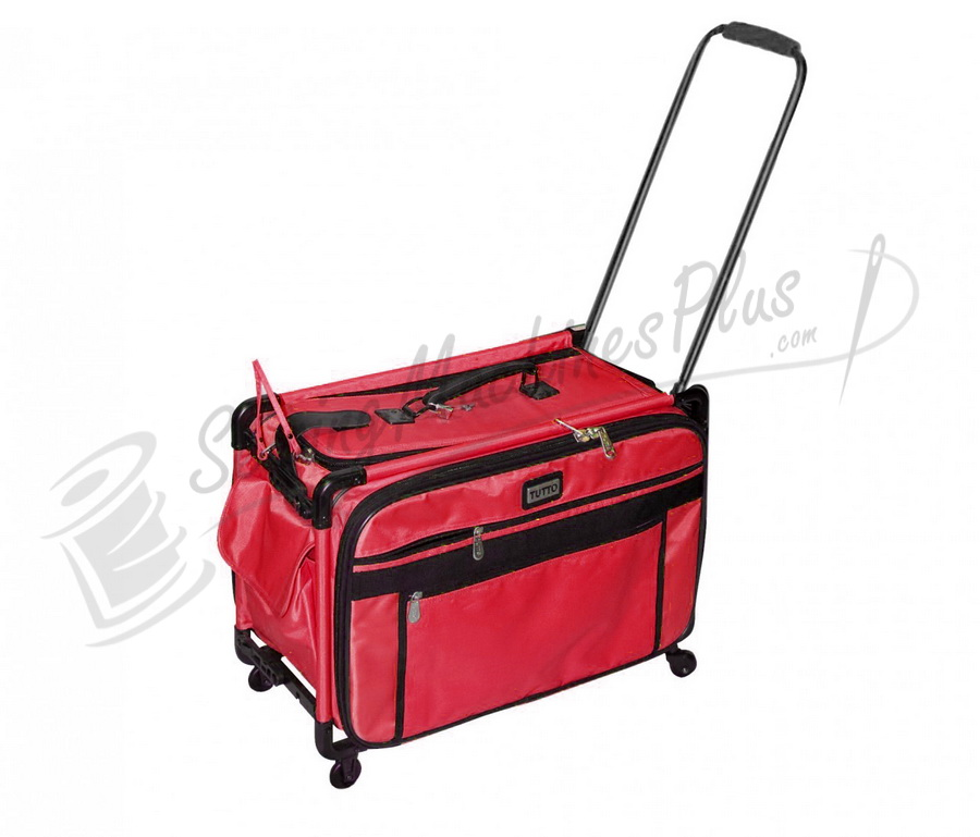 Tutto Large Machine On Wheels - RED
