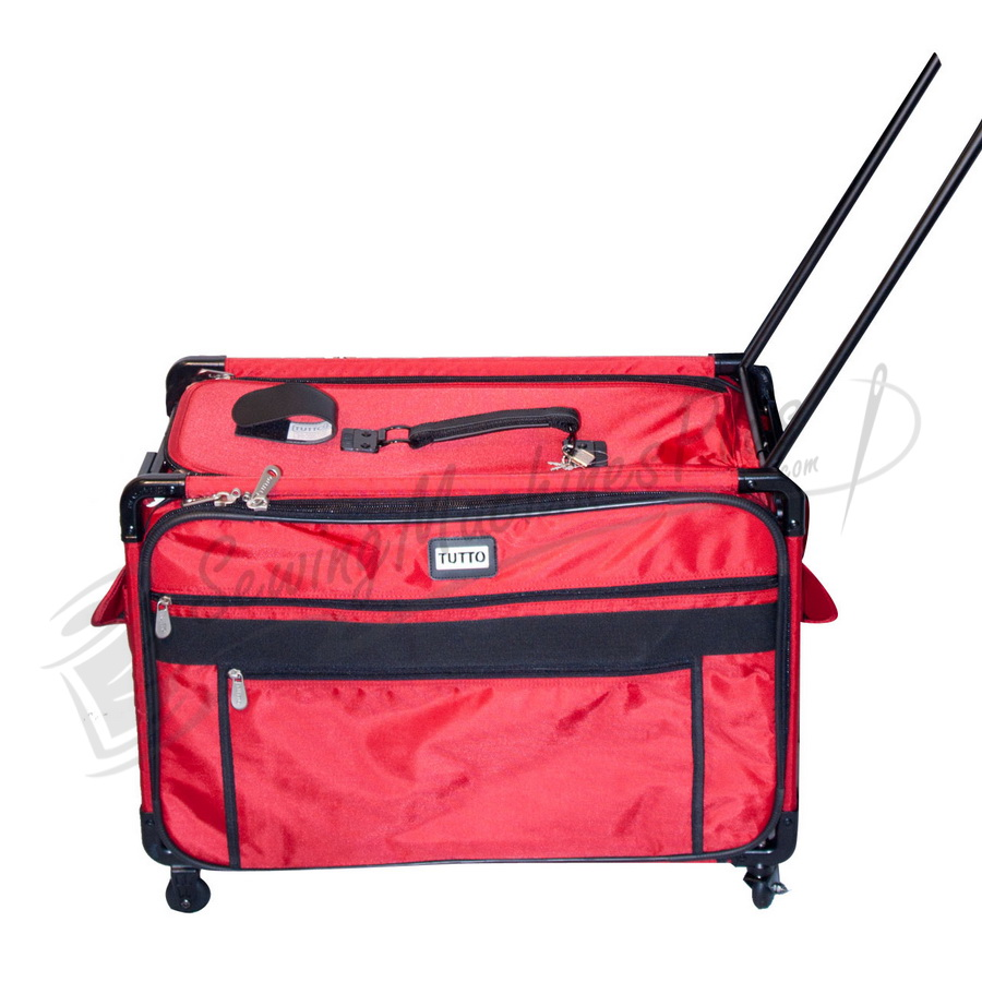 Tutto X-Large Machine on Wheels Case (2000-Red)
