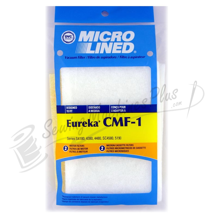 Eureka Filter CMF-1 Victory 2/Cassette2 Secondary pk DVC (06.052)