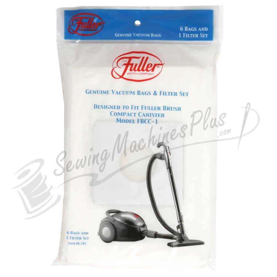Fuller Brush FBCC-1 6pk Paper Bag Micro