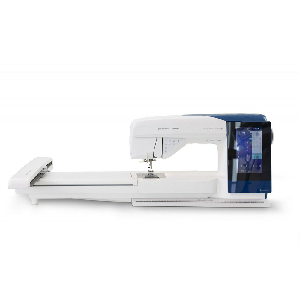 Designer Brilliance 80 Sewing & Embroidery Machine Factory Serviced