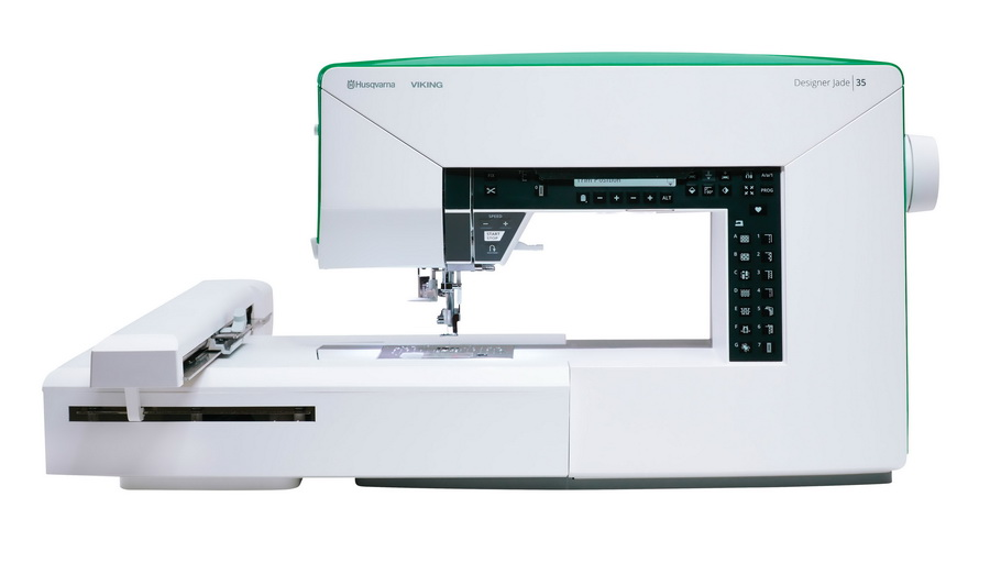 Best Embroidery Sewing Machine: Husqvarna Viking Jade 35 Review
