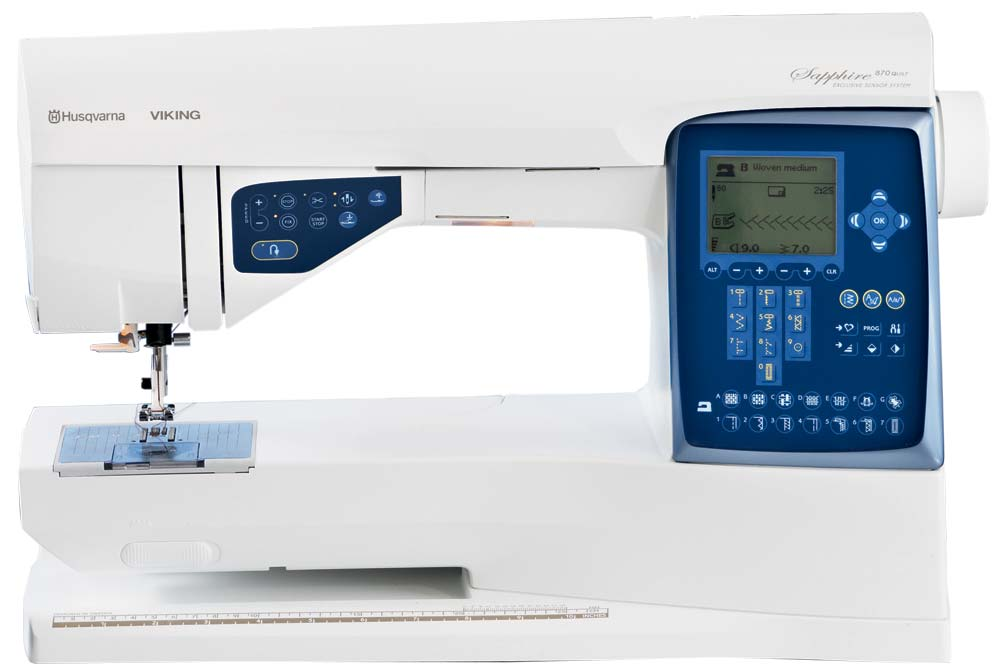 Husqvarna Viking Sapphire 870 Quilt Sewing Machine : husqvarna longarm quilting machine - Adamdwight.com