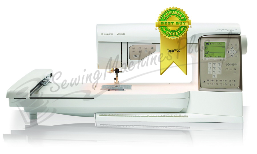 Husqvarna Viking Designer Topaz 20 Sewing and Embroidery Machine