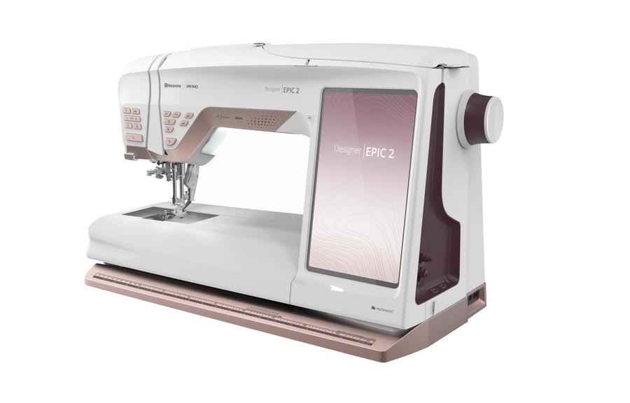 Husqvarna Viking Designer Epic 2 Sewing and Embroidery Machine