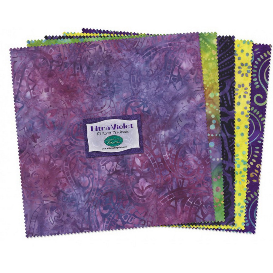 Wilmington Prints Ultra Violet Fabric Kit - 10 inch Squares