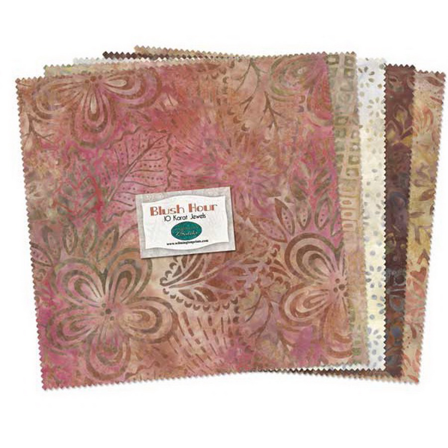 Wilmington Prints Blush Hour Fabric Kit - 10 inch Squares