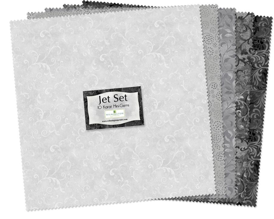 Wilmington Prints Jet Set Fabric Kit - 10 inch Squares