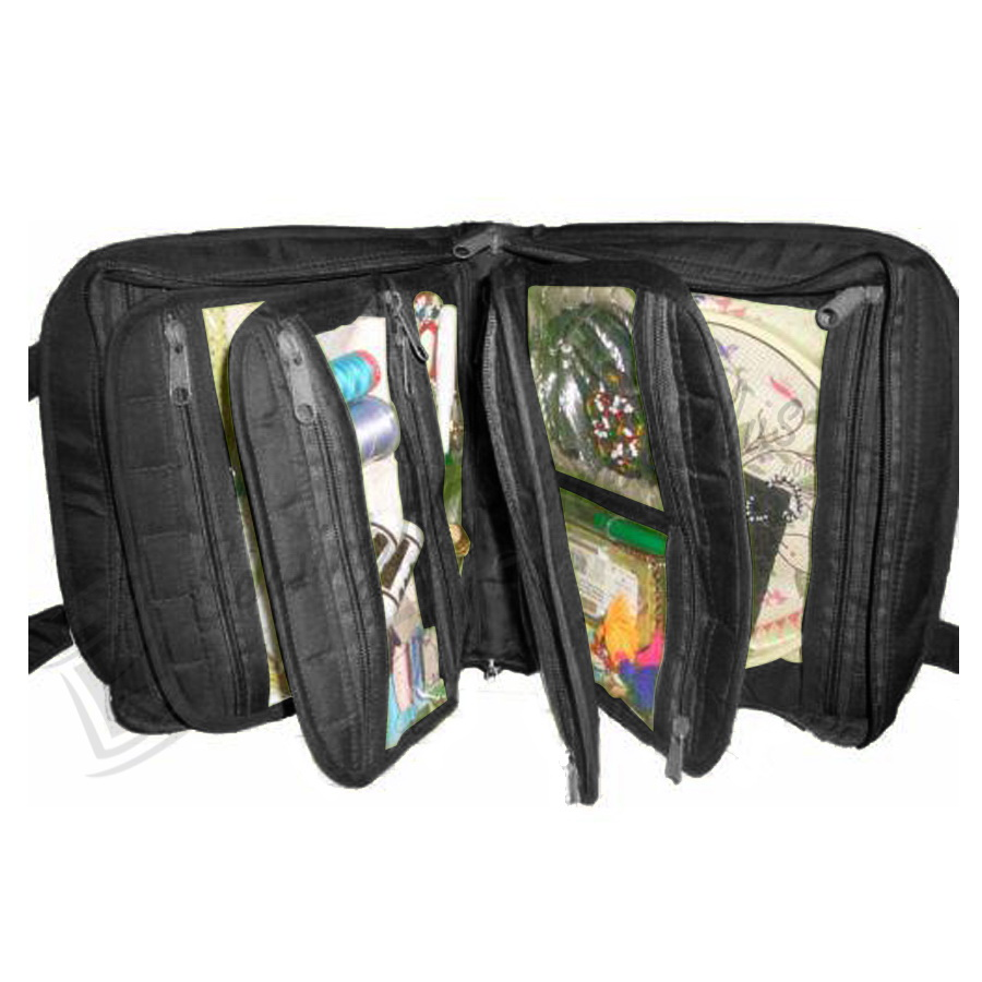 Yazzii Oval Craft Organizer - Black (CA140B)