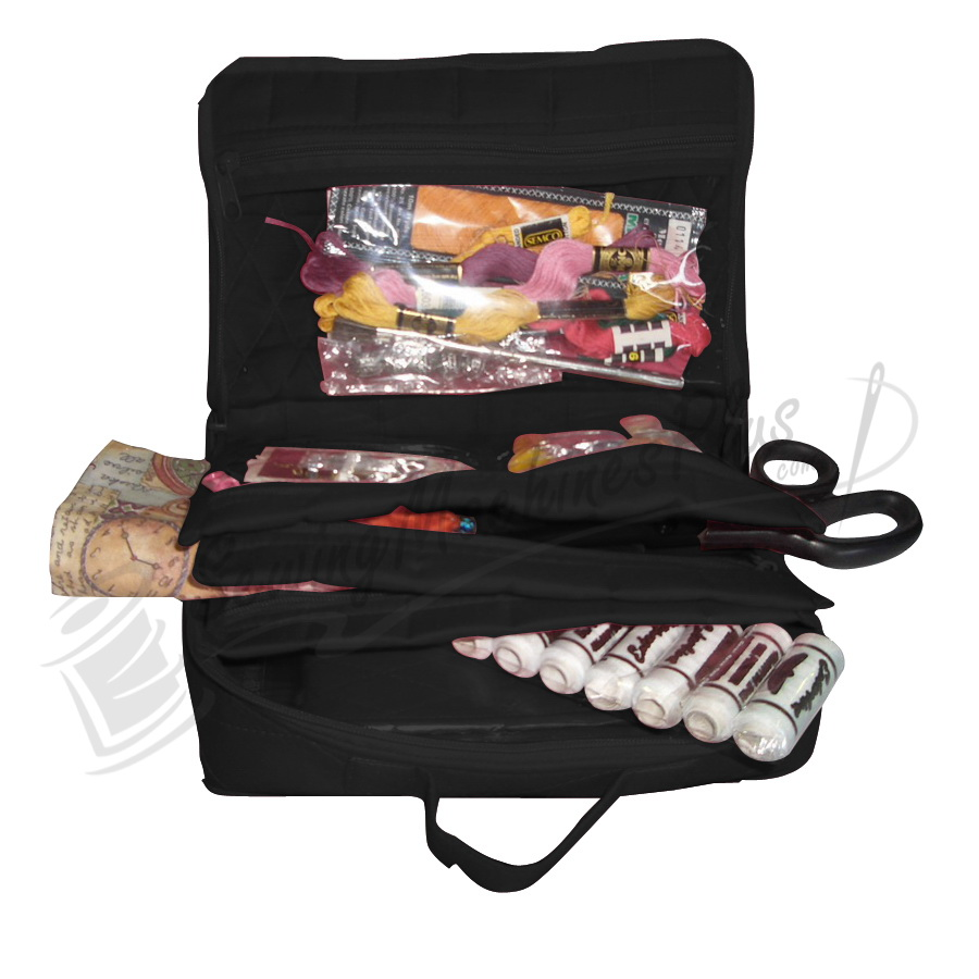 Yazzii Mini Craft Organizer Large-Black (CA14B)