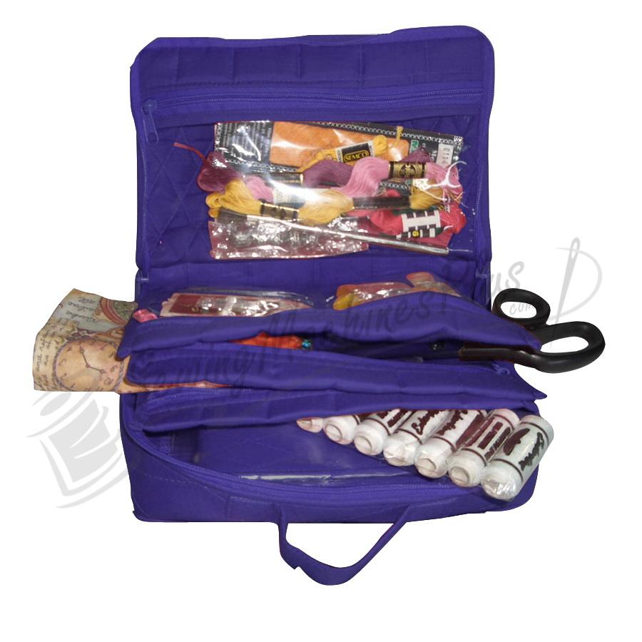 Yazzii Mini Craft Organizer Large-Purple (CA14P)