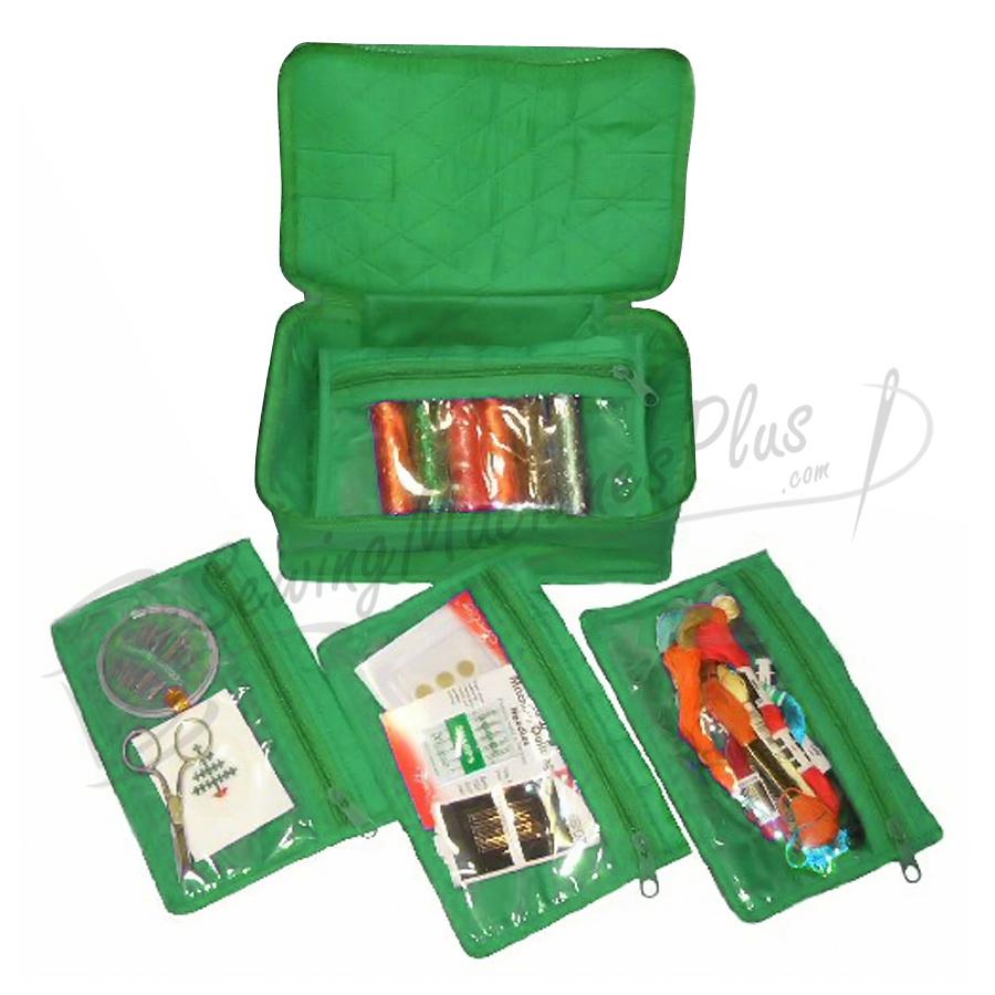 Yazzii 4 Pocket Craft Organizer-Green (CA340G)