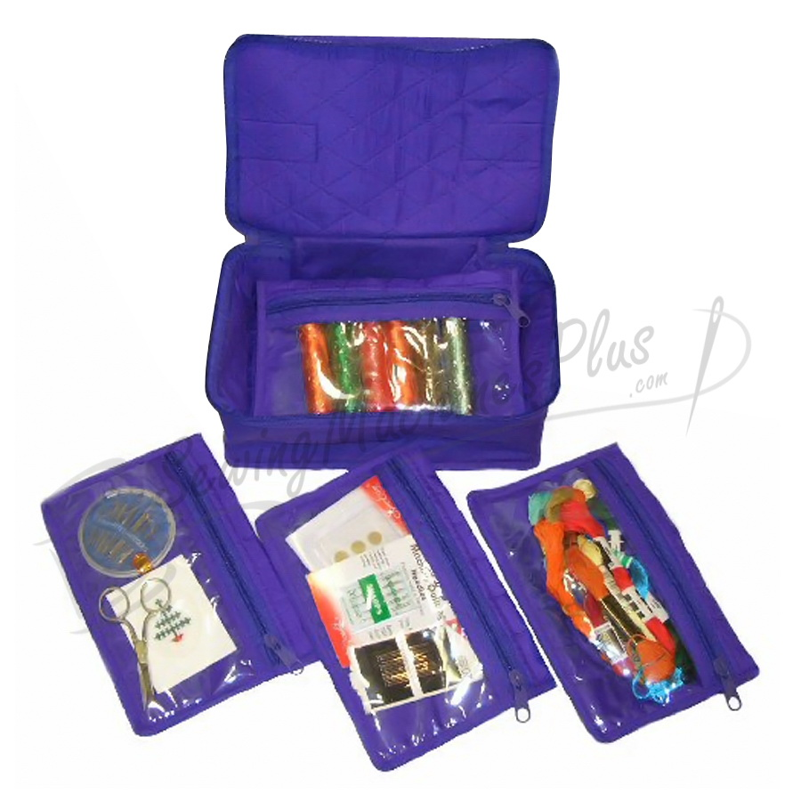 Yazzii 4 Pocket Craft Organizer-Navy CA340N