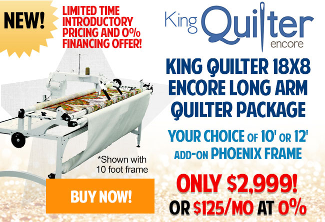 Top of the line 18 Inch FS Long Arm Quilting Machine w/ Extra High ...