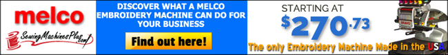 Visit the Melco Embroidery Machines page