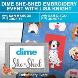 DIME She-Shed Event