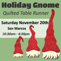 Gnome table runner