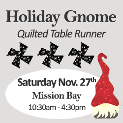 Gnome table runner mission bay