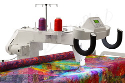 """NEWEST Upgraded Top of the Line 18"""" Long Arm Quilting Machine w/ 10' Continuum Frame"""