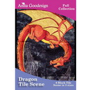 Anita Goodesign Dragon Tile Scene 133AGHD