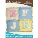 Anita Goodesign Mini Collection Quilted Baby Alphabet 56MAGHD