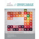 Anita Goodesign Pre07 Premium Collection Periodic Table Of Quilting & Embroidery
