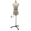 SewingMachinesPlus.com Ava Collection Petite Adjustable Dress Form with New Style Base With Casters Included