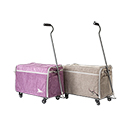 Photo of Bluefig DS26 Wheeled 26 Inch Sewing Machine Carrier from Heirloom Sewing Supply