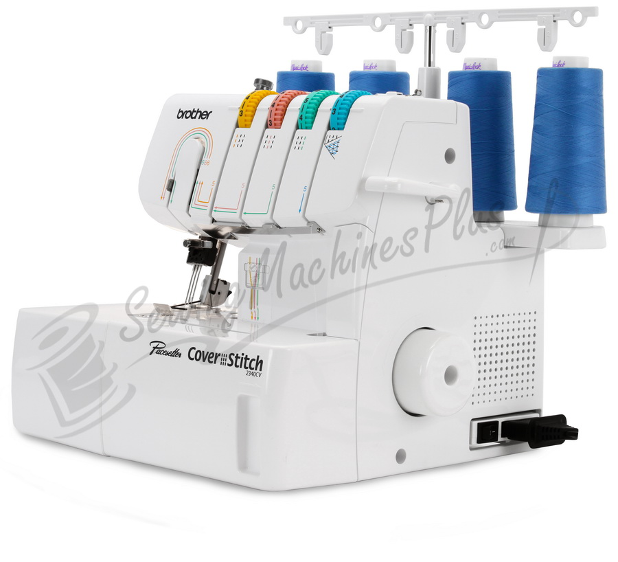 Brother 2340CV Chain and Cover Stitch Machine with 1,  2 or 3 Thread  Stitching.