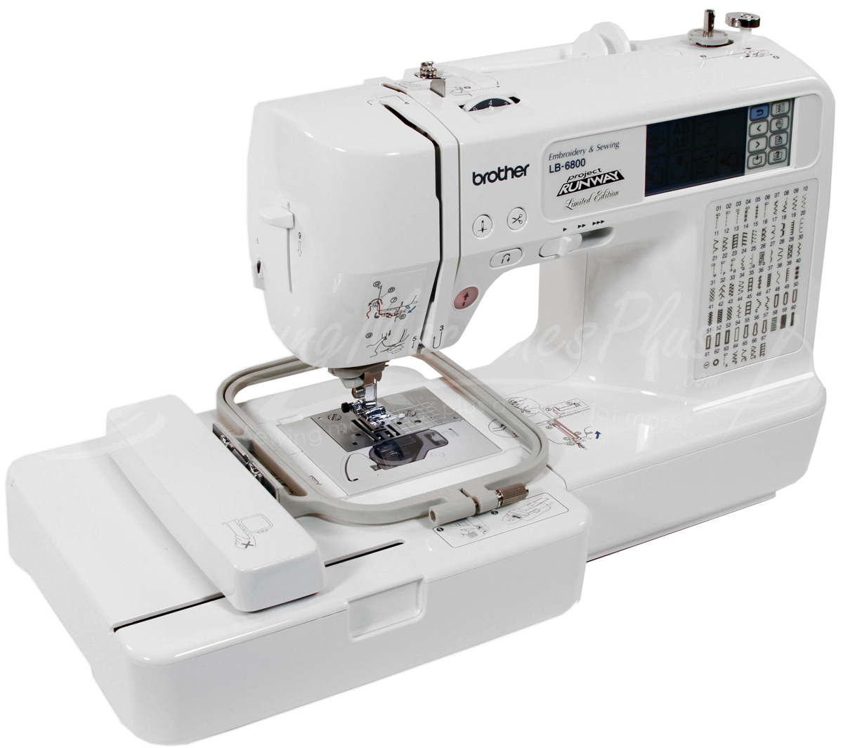 Brother Lb6800 Prw Project Runway Limited Edition Sewing