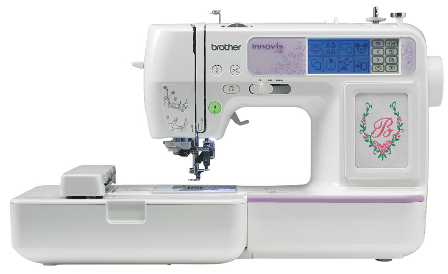 Brother Innovis 40D Sewing Embroidery Machine Gorgeous Brother Embroidery Sewing Machine