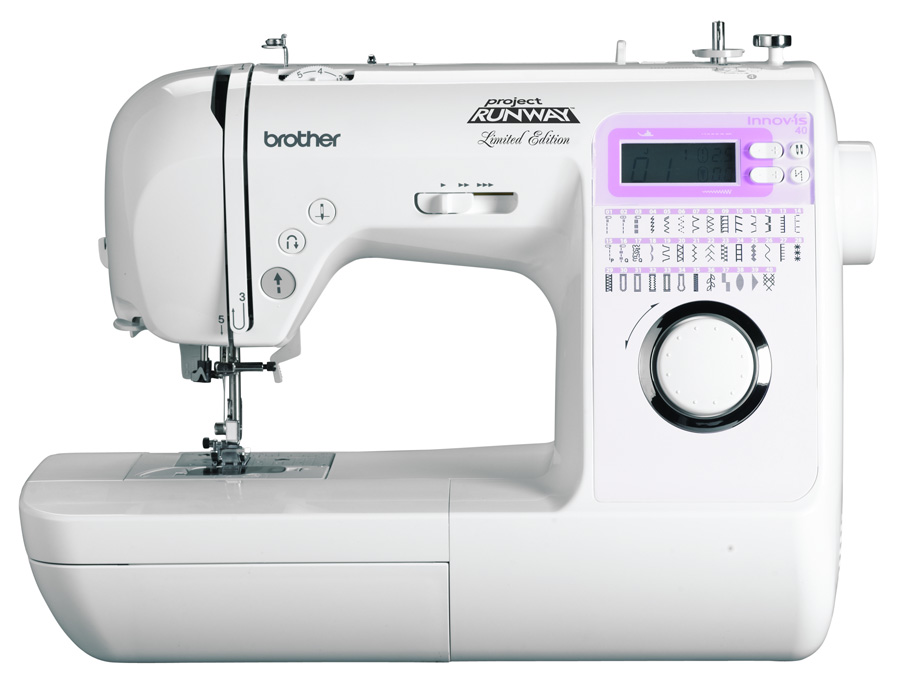 Brother Limited Edition Project Runway Innovís 40 Simple Brother Project Runway Sewing And Embroidery Machine