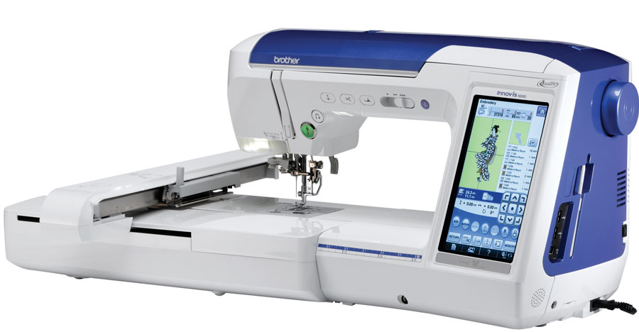Brother Quattro 40D Sewing And Embroidery Machine Unique Brother Embroidery Sewing Machine