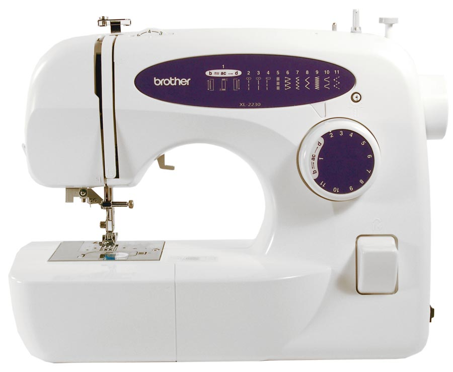 Brother XL40 Free Arm Sewing Machine Mesmerizing Brother Xl 2230 Sewing Machine
