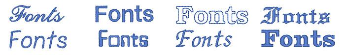 35 Fonts PLUS 5 Small Fonts