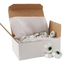 Type L Brother Pre-wound Bobbins 100 Pk White - PRWB135