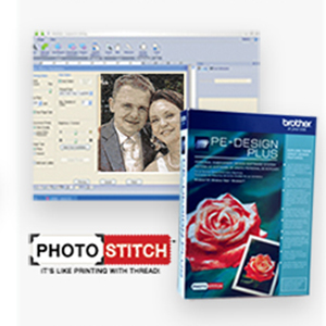 Digitize it with PE-Design Plus Embroidery Software with PhotoStich Feature