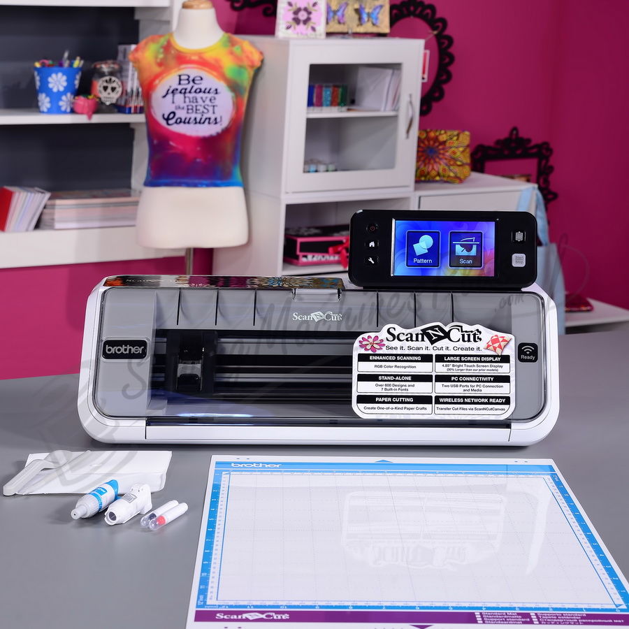 Brother Scan N Cut 2 Hobby Cutting Machine And Scanner