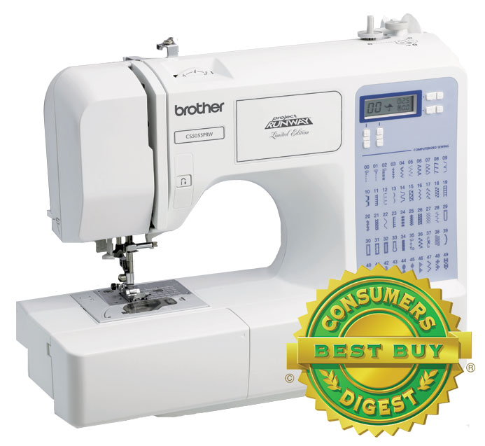 Brother CS40PRW Brother Project Runway Sewing Machine Classy Brother Cs5055 Project Runway Computerized Sewing Machine