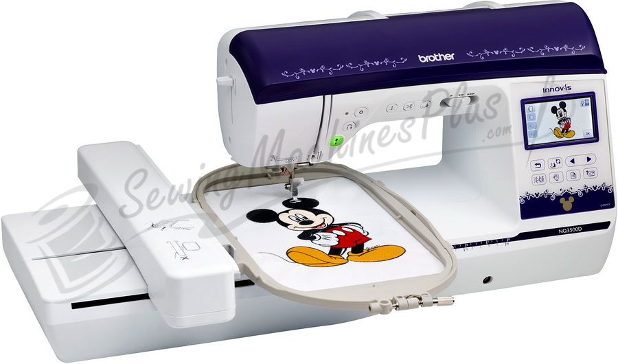 Brother Innov-is NQ3500D Combination Sewing & Embroidery Machine