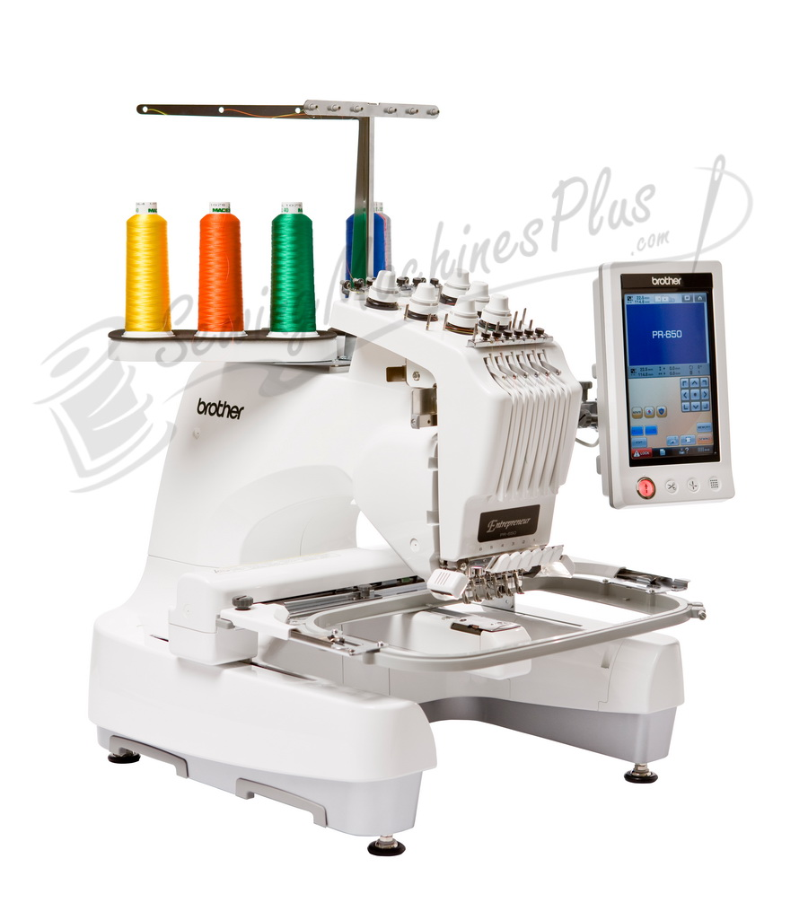 brother entrepreneur pr 650 6 needle 8x12 embroidery machine rh sewingmachinesplus com