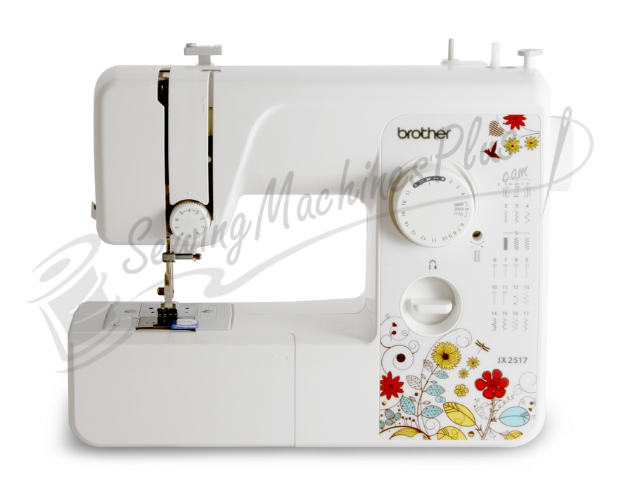 Refurbished Brother RJX40 Lightweight Full Size Sewing Machine Impressive Brother Jx2517 Sewing Machine Parts